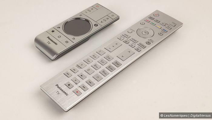 Panasonic tv 4k AX800 telecommandes