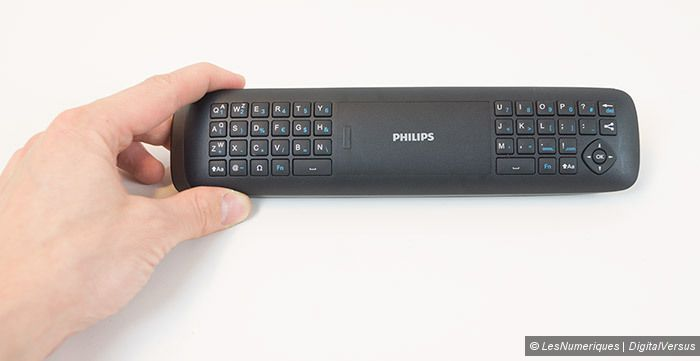 Philips 55PUS7809 telecommande clavier