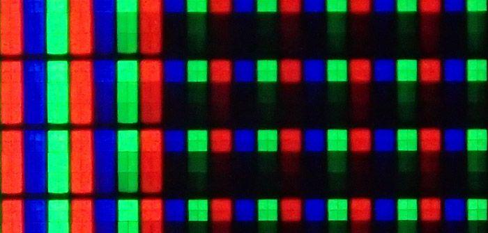 Samsung h6400 sous pixels