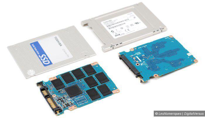 Toshiba q series pro 256gb pcb