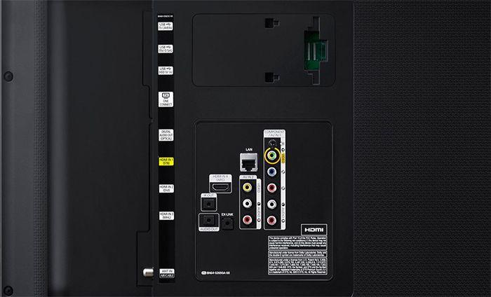 Samsung HU6900 connectique