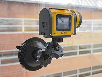 Kodak SP1 fixation ventouse1 300px