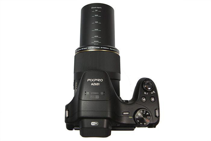 Kodak AZ651 dessus zoom
