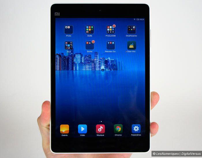 xiaomi mipad test complet tablette tactile les num riques. Black Bedroom Furniture Sets. Home Design Ideas