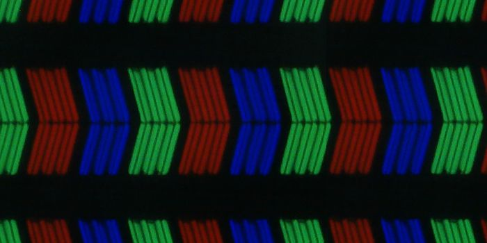 LG 55UB950V sous pixels