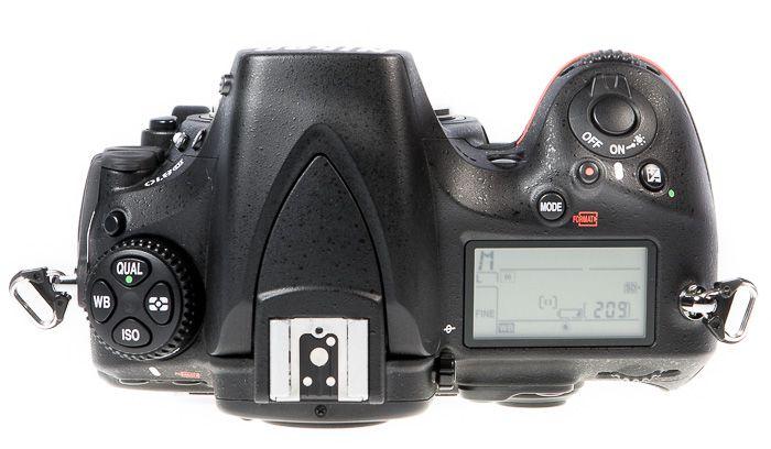 Nikon D810 test dessus