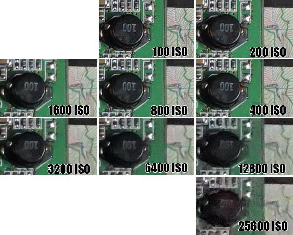 Sony Alpha5100 ISO 10 LMDN(25600)