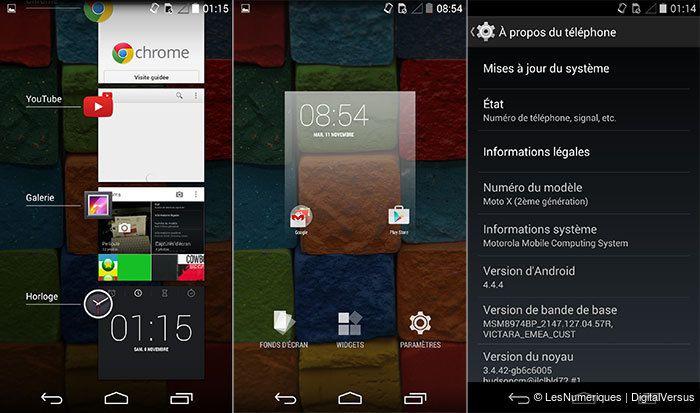 Test du Motorola Moto X 2014