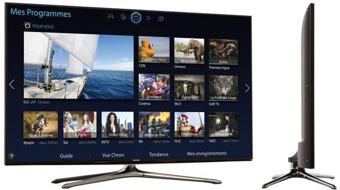 Samsung UE55H6200 vues
