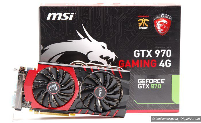 MSI N970 Gaming 4G twinfrozr box