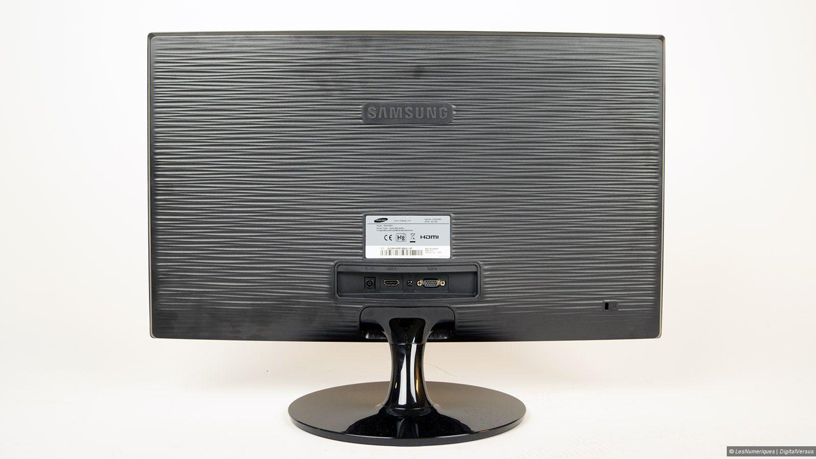 Samsung s24d300h test complet ecran lcd pour for Test ecran pc 24 pouces