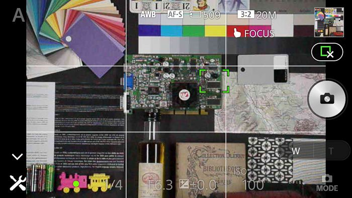 Sony QX1 menus LesNumeriques 14