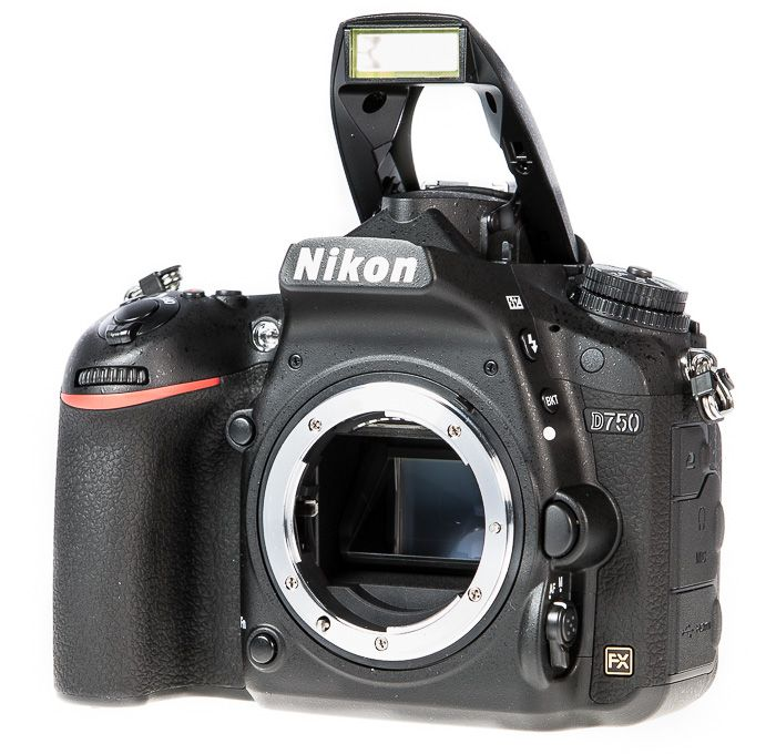 Test Nikon D750 flash capteur