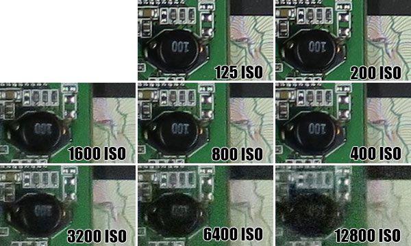 Canon G7X ISO12800