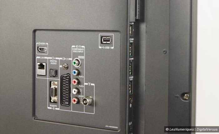 Toshiba 47L7453DG connectique