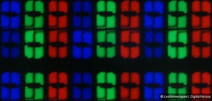 Sharp LC 60UD20EN sous pixels