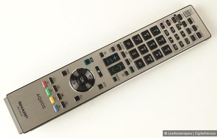 Sharp LC 60UD20EN telecommande