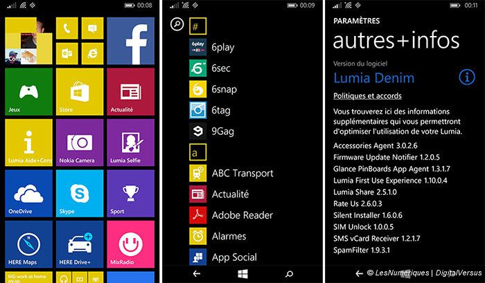 Test du Nokia Lumia 735