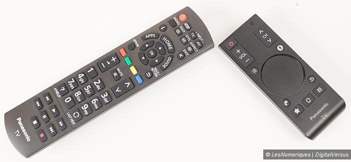 Panasonic AX630 telecommandes