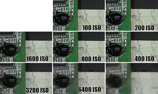Fujifilm X30 ISO 12800