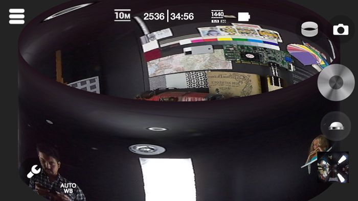 Kodak Pixpro SP360 App ring