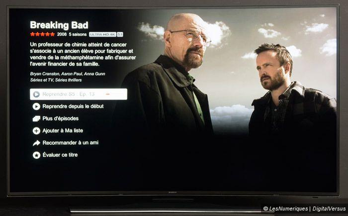 Samsung HU7200 Netflix
