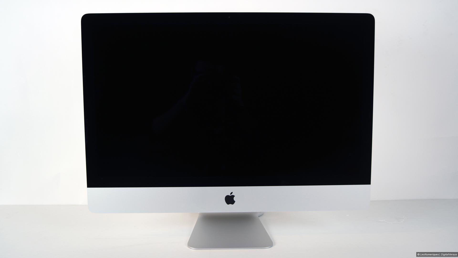 Apple imac 27 pouces retina : test complet ordinateur les numériques