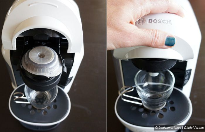 bosch tassimo vivy t12 test complet cafeti re capsule dosette les num riques. Black Bedroom Furniture Sets. Home Design Ideas