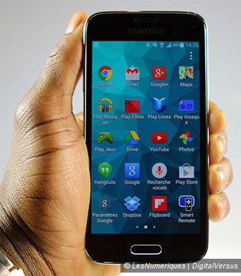 Test du Samsung Galaxy S5 mini