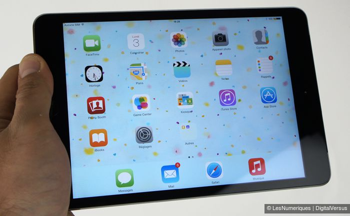 apple ipad mini 3 test complet tablette tactile les. Black Bedroom Furniture Sets. Home Design Ideas