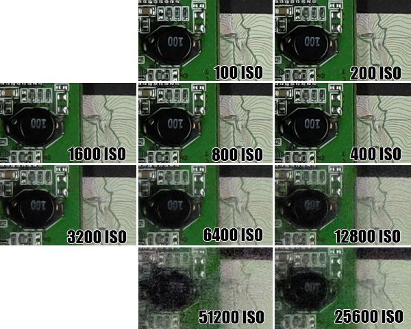 Fujifilm X100T ISO51200