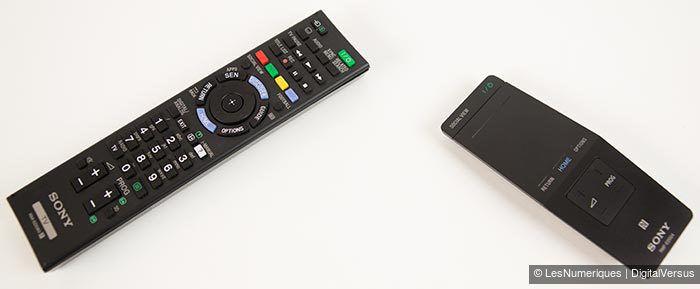 Sony KD 55X8505B telecommandes