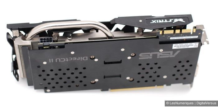 Asus geforce gtx 970 strix back