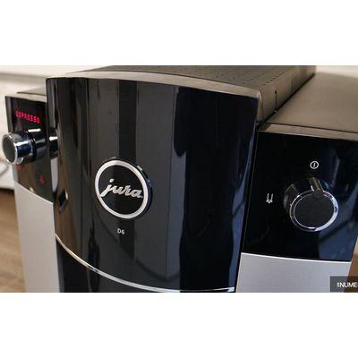Cafetière automatique avec broyeur Jura D6: peu de place à la fantaisie