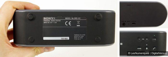 Sony srsx2 700 back