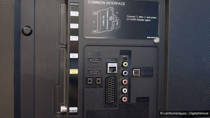 UE48H6850 connectique