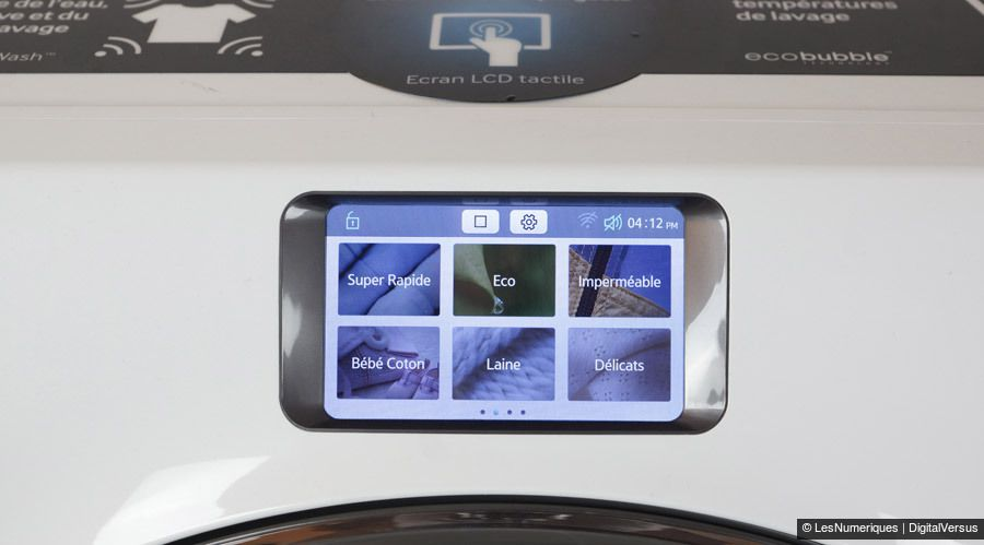 Samsung WW9000 ecran 900
