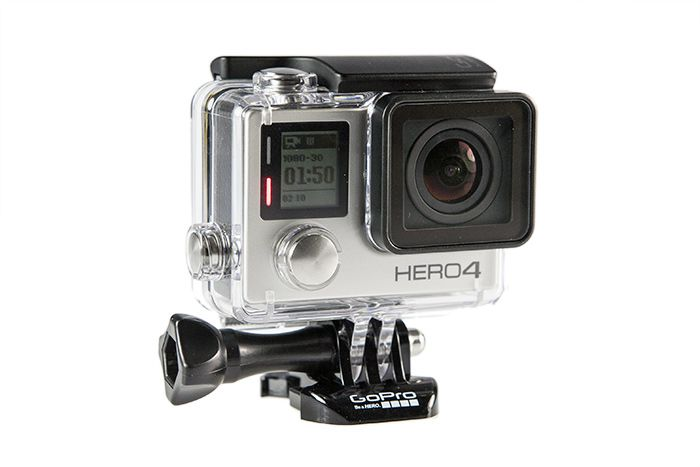 GoPro Hero4 Silver Case