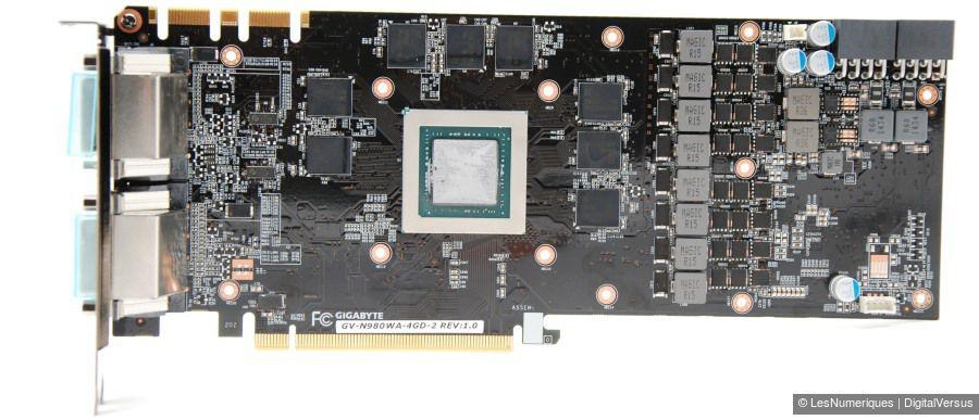 Gigabyte GV N980X3WA 4GD pcb