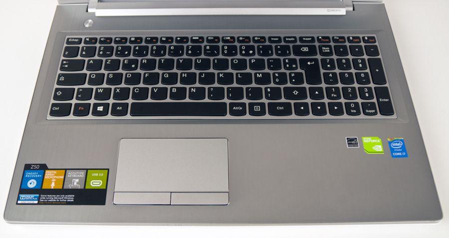 Z50 clavier