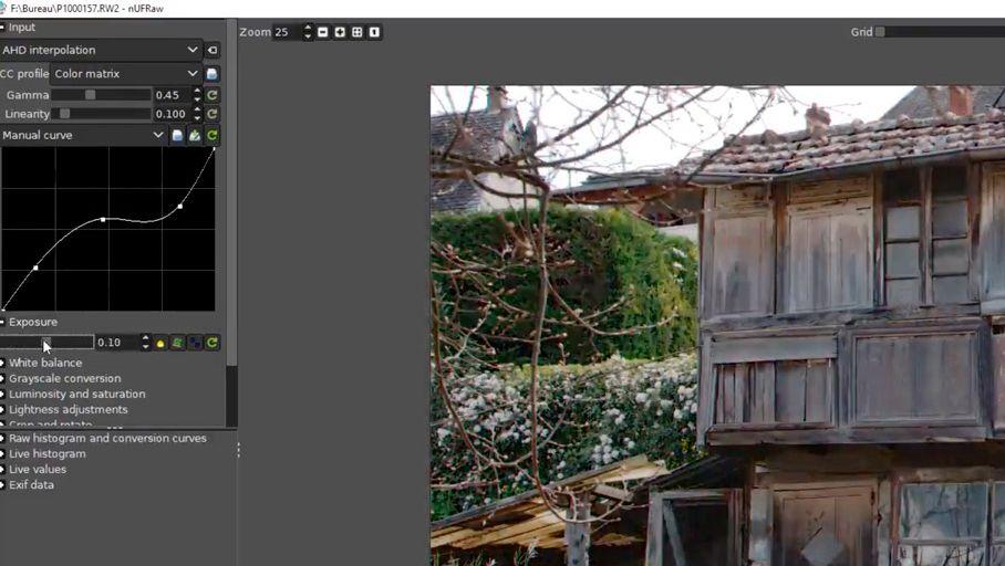 Tuto vidéo – Traiter des fichiers RAW avec GIMP 2 10 - Les Numériques
