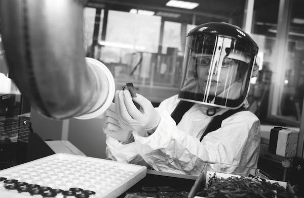Focal travail beryllium