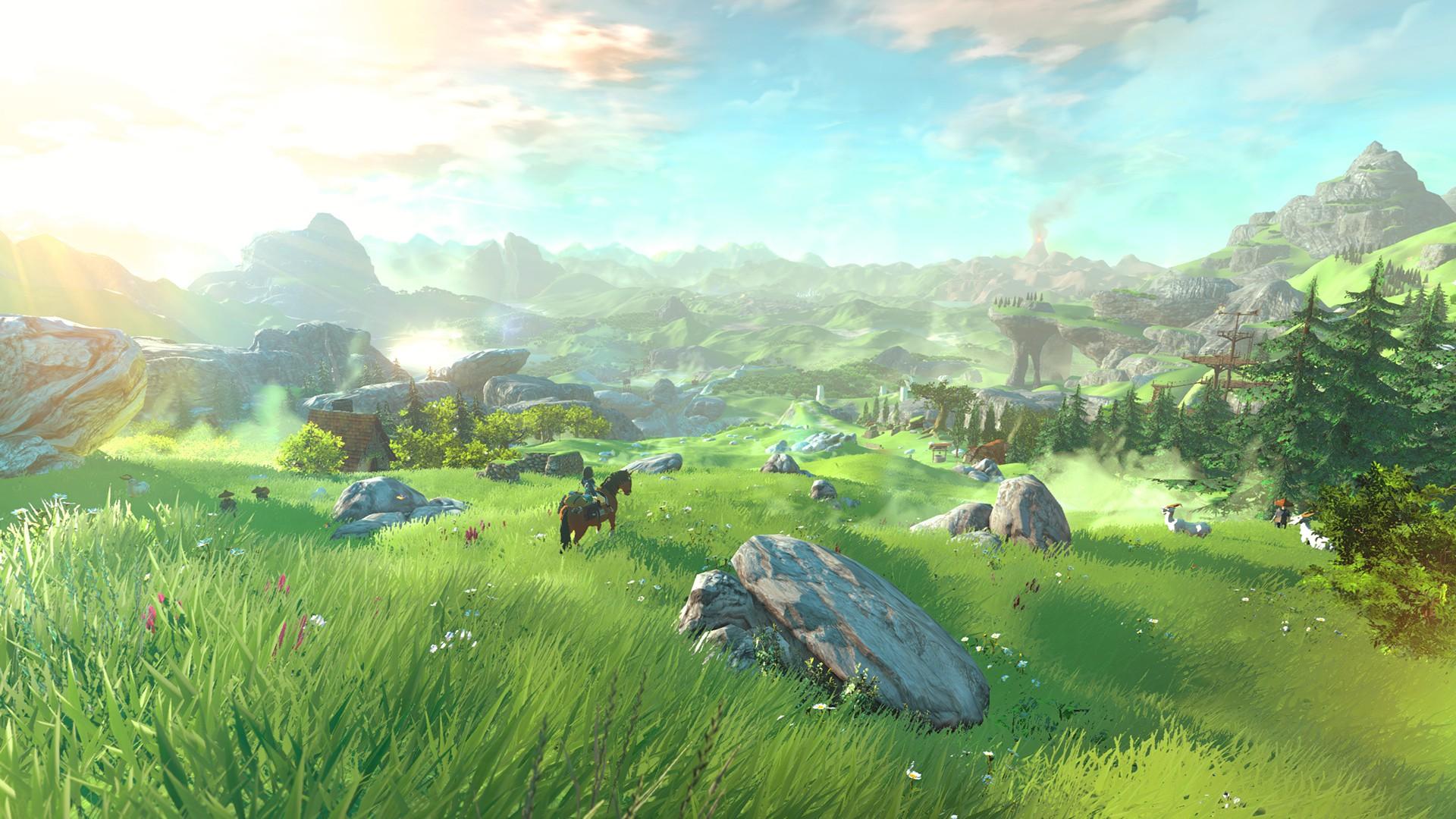 Surprenant Zelda Breath Of The Wild Ps4 chronique jeu – zelda : breath of the wild, la leçon de nintendo