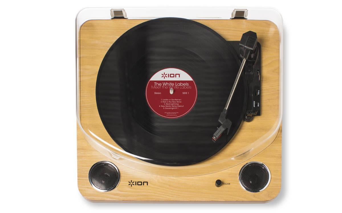 ion max lp platine vinyle tout faire avec haut parleurs int gr s. Black Bedroom Furniture Sets. Home Design Ideas