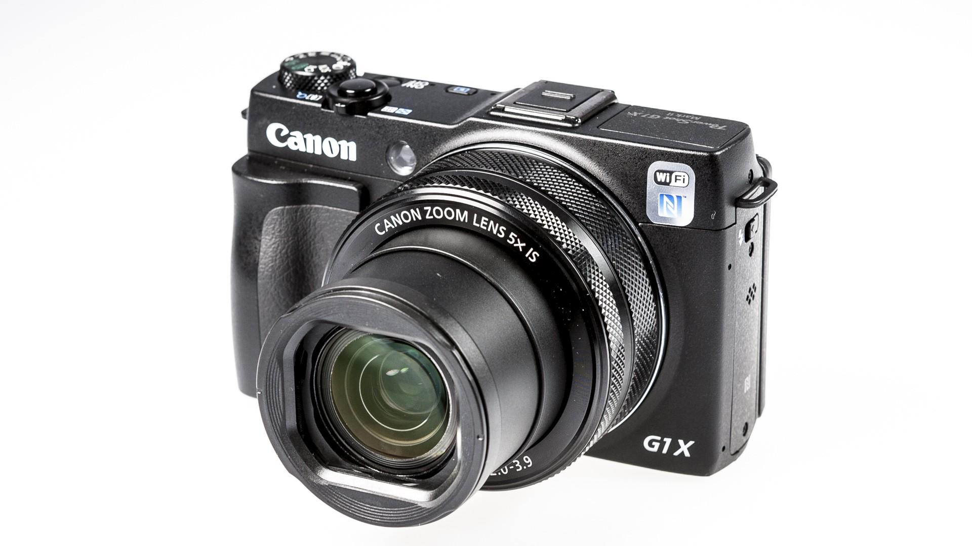 Canon PowerShot G1 X Mark II : Test complet