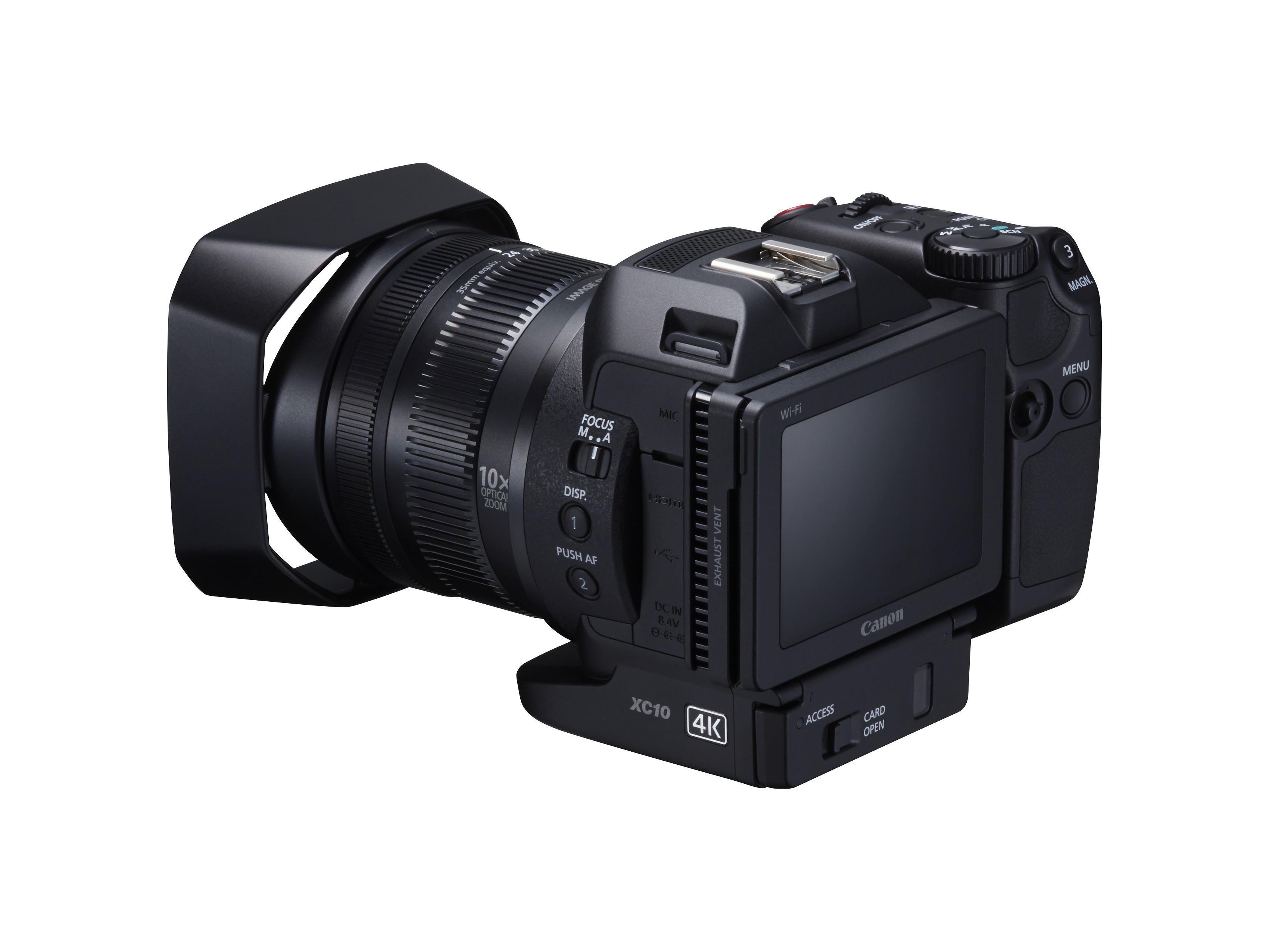 Canon xc10 cam ra uhd zoom 10x pour enthousiastes et for Ecran pour photographe pro