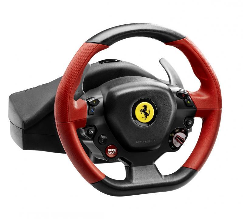 thrustmaster ferrari 458 spider racing wheel : test complet