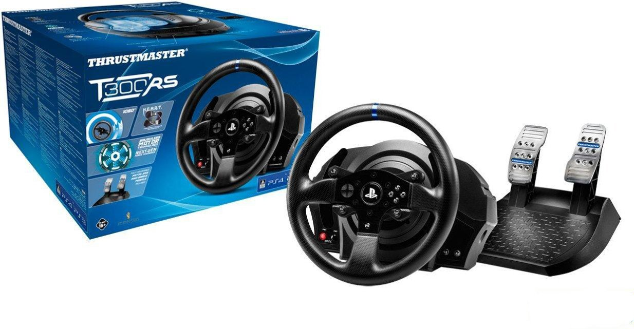 thrustmaster t300 rs test prix et fiche technique volant les num riques. Black Bedroom Furniture Sets. Home Design Ideas