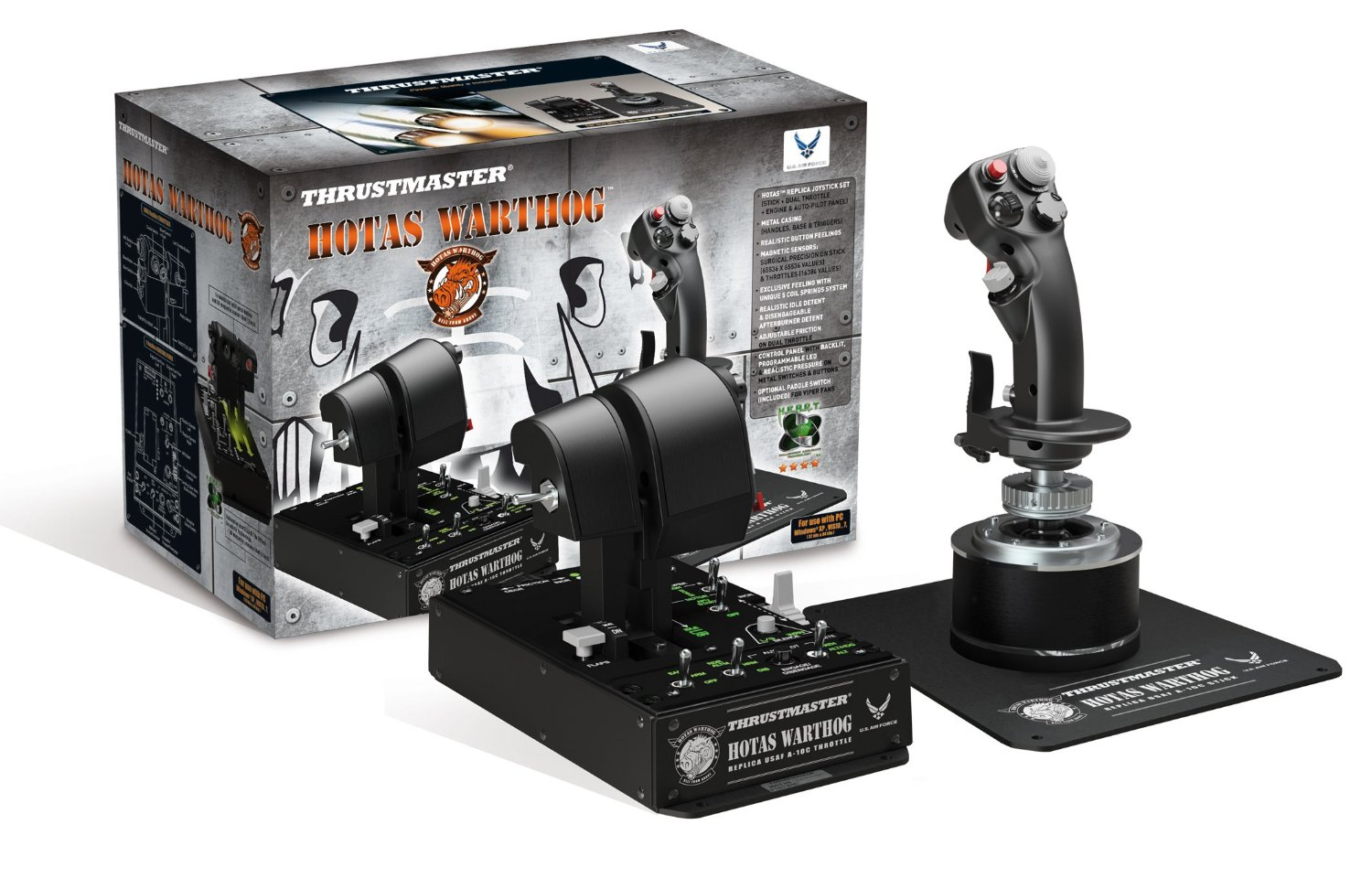 thrustmaster hotas warthog test prix et fiche technique. Black Bedroom Furniture Sets. Home Design Ideas