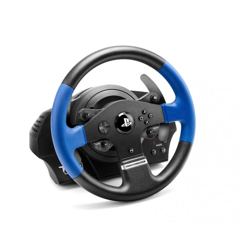 thrustmaster t150 force feedback test prix et fiche technique volant les num riques. Black Bedroom Furniture Sets. Home Design Ideas